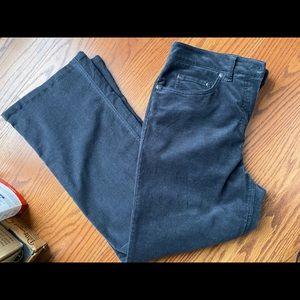 Women's Jones NY Stretch Cords Dark Grey, sz 12